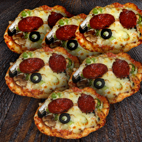 Soujuk Mini Pizza 1/2 Dozen