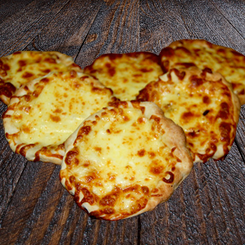 Cheese Pizza Mini Half Dozen